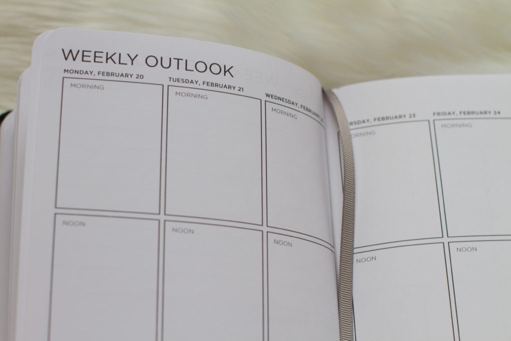 Weekly Outlook Ink+Volt Planner