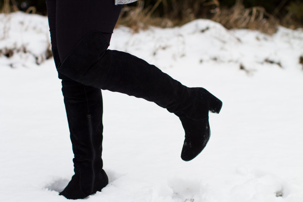 OTK Boots for Favorite Winter Trends