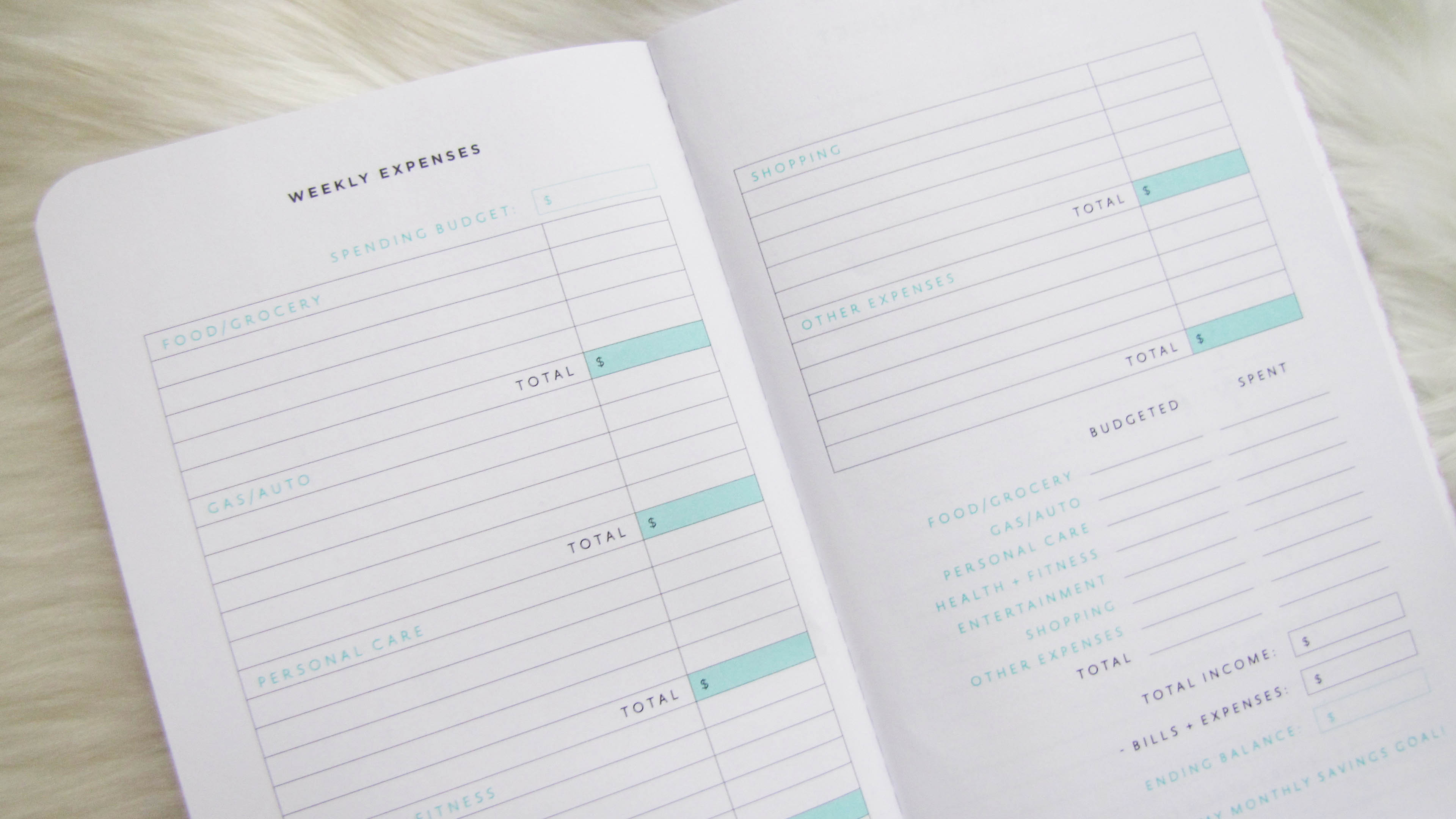 How to use a budget planner | Weekly Expenses on Budget Planner | Margaret Paige