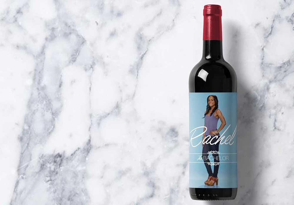 Rachel Printable Wine Label | Bachelor | Meg Ronspies