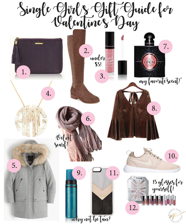 What To Gift Yourself for Valentine's Day #SingleGirlsGuide | Margaret Paige