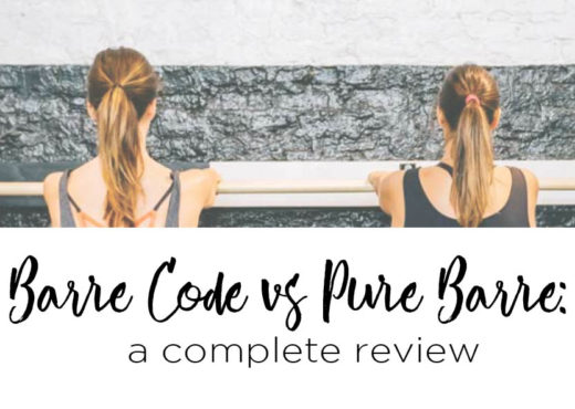 Barre Code vs Pure Barre Review | Margaret Paige