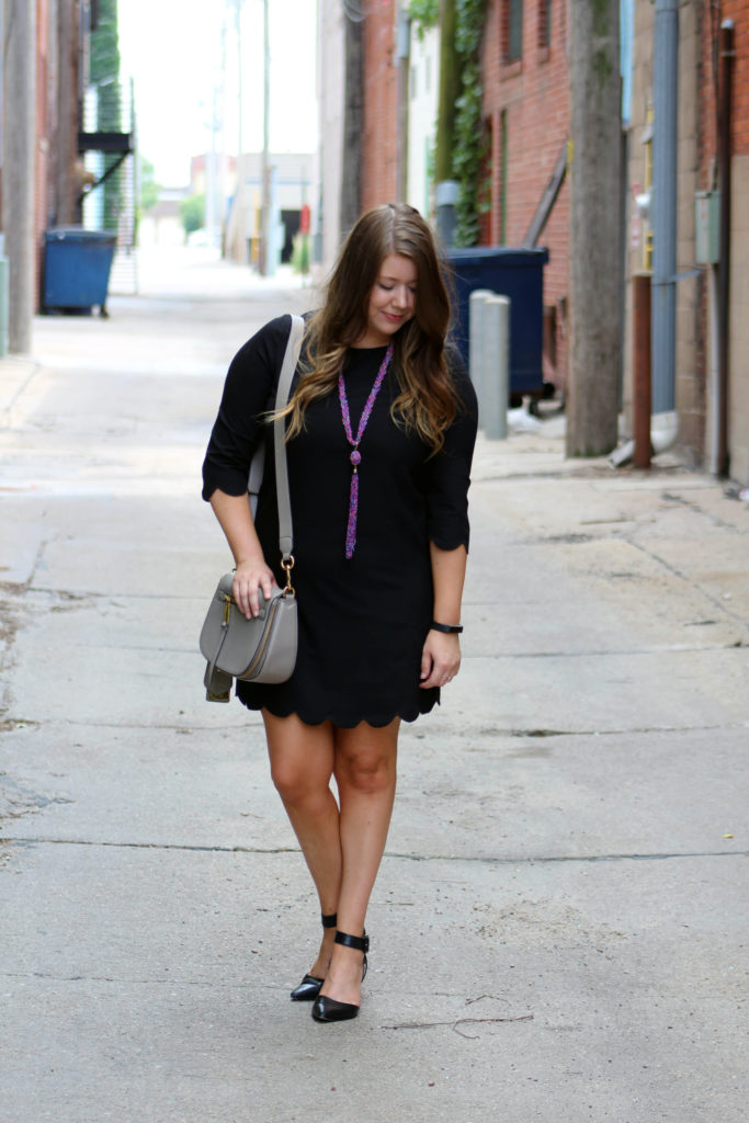 Motivation Monday .02 Tobi Scallop Dress | Margaret Paige