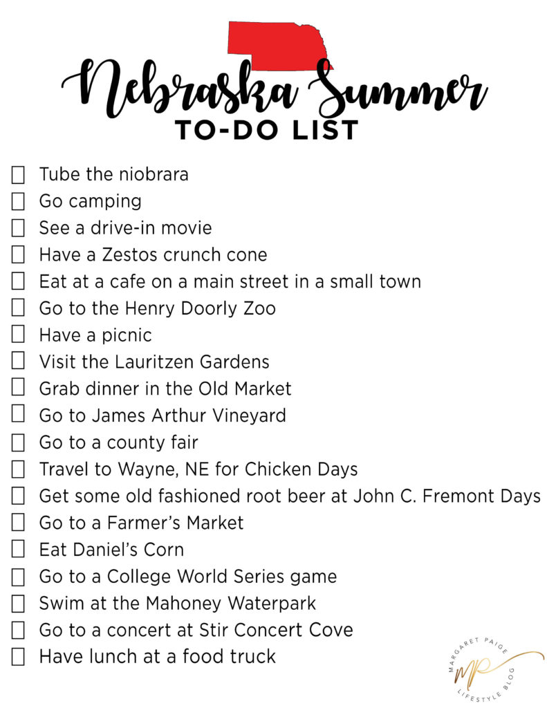 Nebraska Summer To-Do List + Tobi Dress