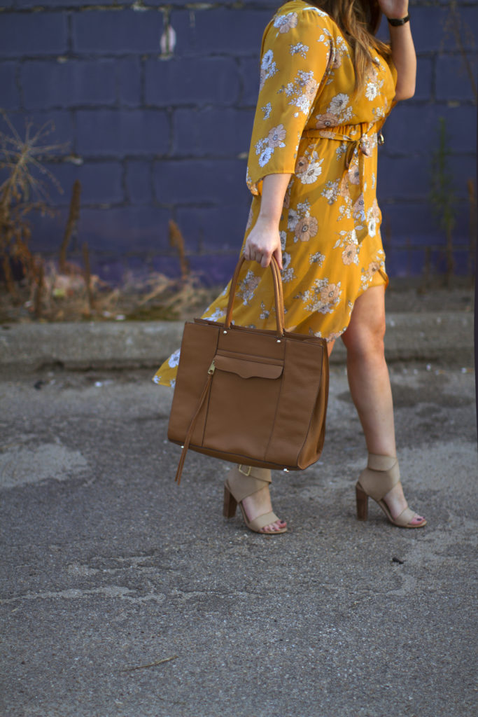 August: Monthly Must Haves | Margaret Paige | Yellow Buckle Dress