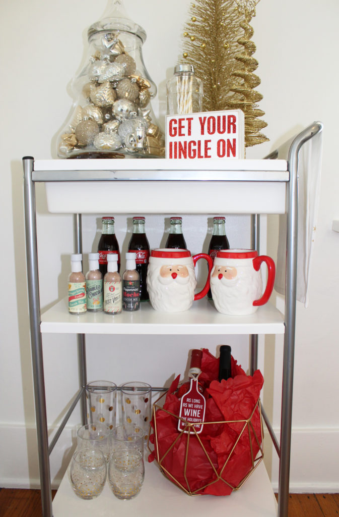 Bar Cart | Set The Bar With Gordmans | Margaret Paige Lifestyle Blog