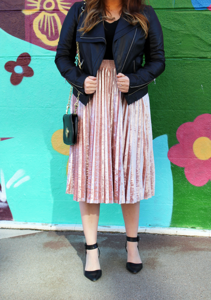 Fall-Must-Have-Velvet | Velvet Skirt