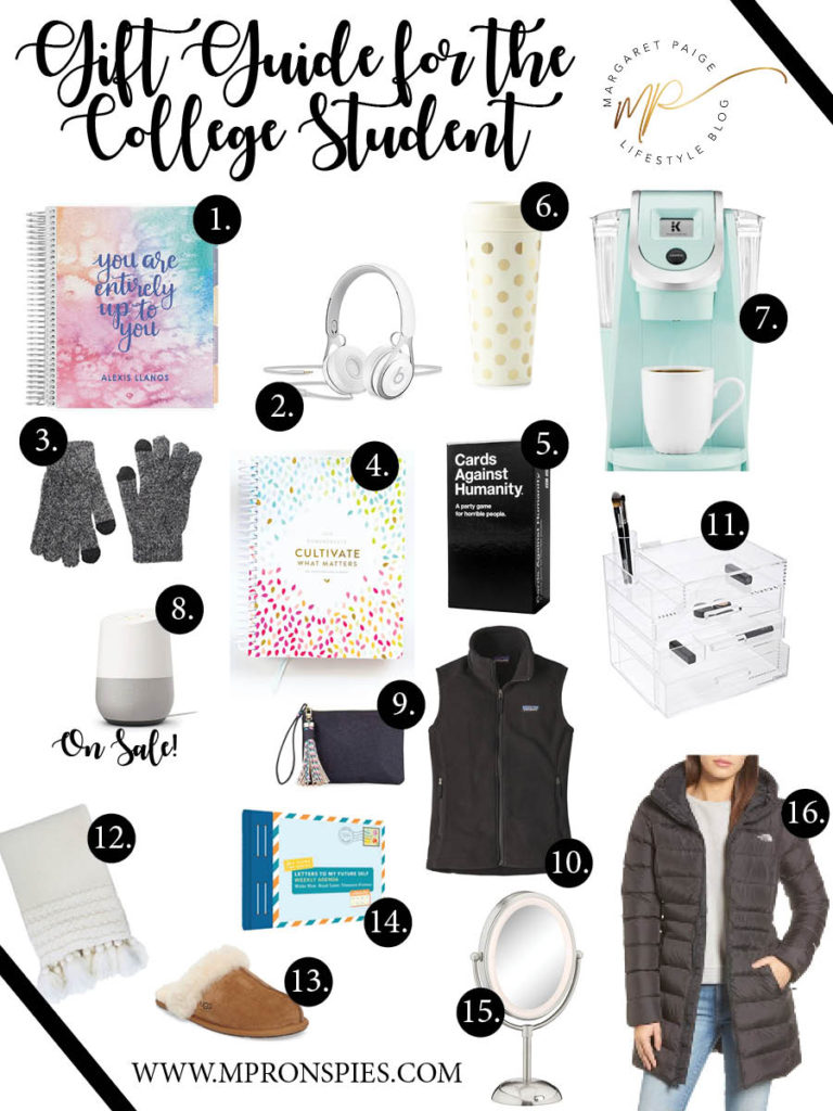 Gift-Guide-for-college-student | Gift Guide for the College Student | Margaret Paige Lifestyle Blog