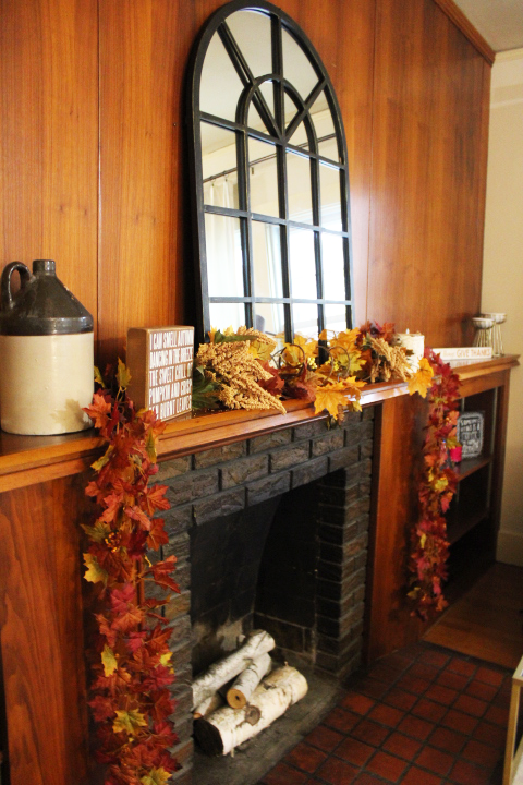 Budget Friendly Fall Home Mantle Decor with Gordmans - Margaret Paige Nebraska Lifestyle Blog