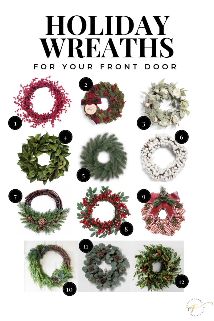 Holiday Wreaths For Your Front Door